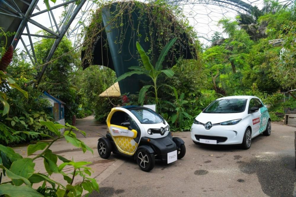 Renault's Electric Vehicles Head To Eden Project