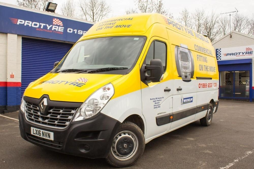 Renault Master Van Makes up the Majority