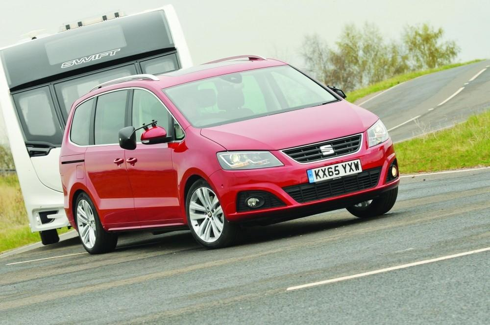 SEAT Alhambra Is Best MPV Tow Car