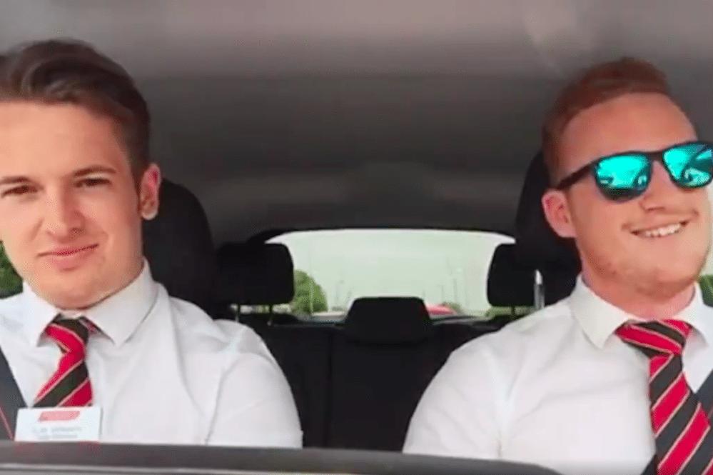 Carpool Karaoke! This week on Facebook