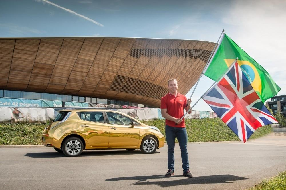 Gold Medal Athletes Could Win a Gold Nissan LEAF