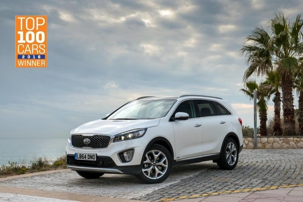 Kia Sorento Wins Large Crossover Award