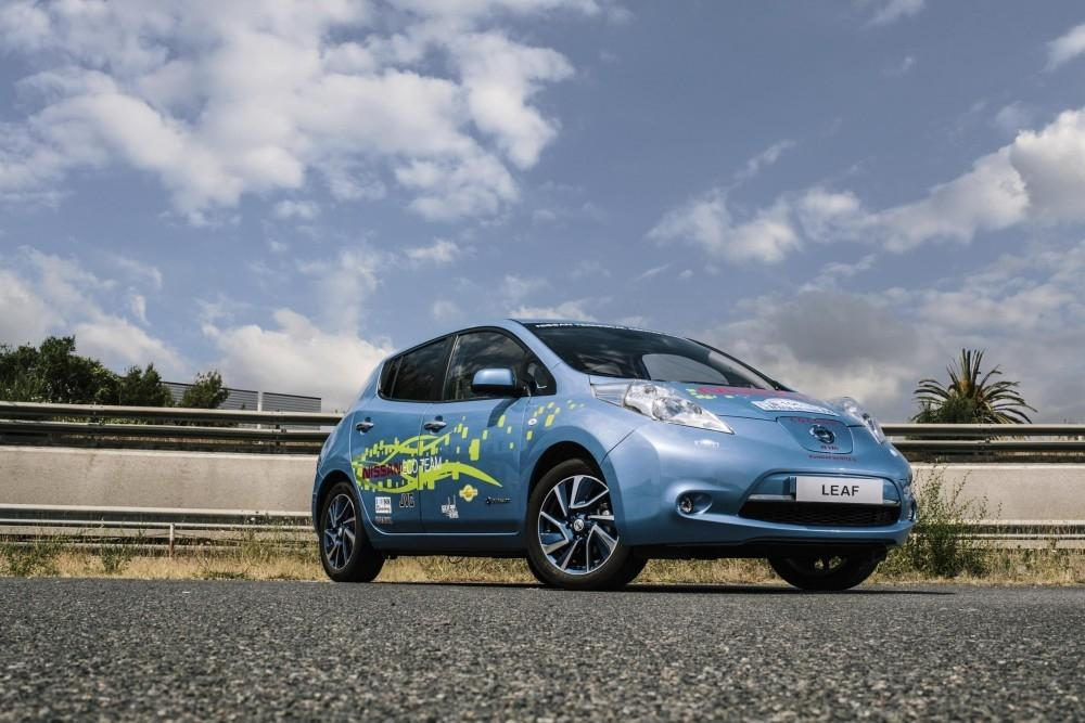 Nissan Engineers Produce Special LEAF In Spare Time
