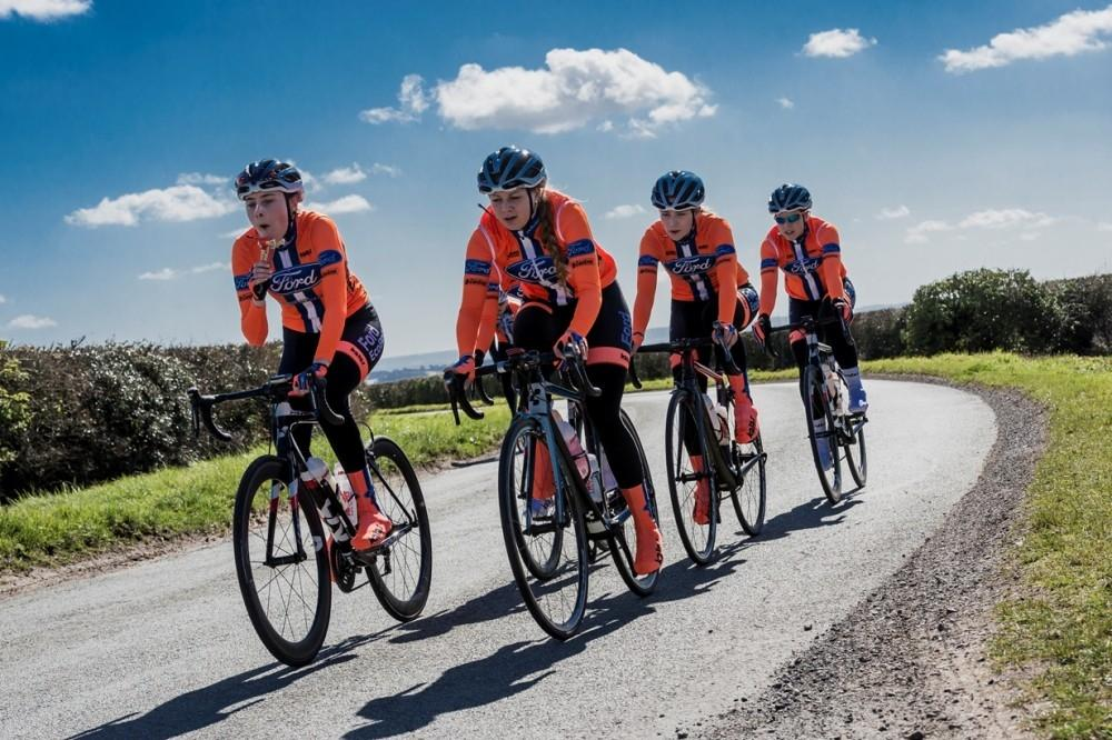 Ford Partners with Top Women Cyclists