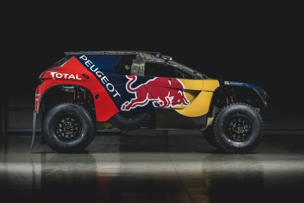 New Livery for Team Peugeot Total