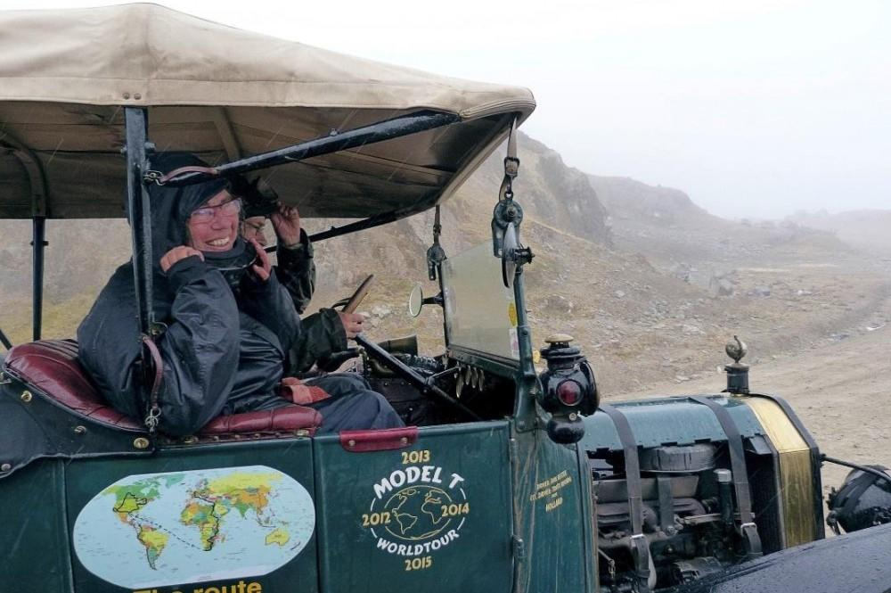 Ford Model T Drives Around the World