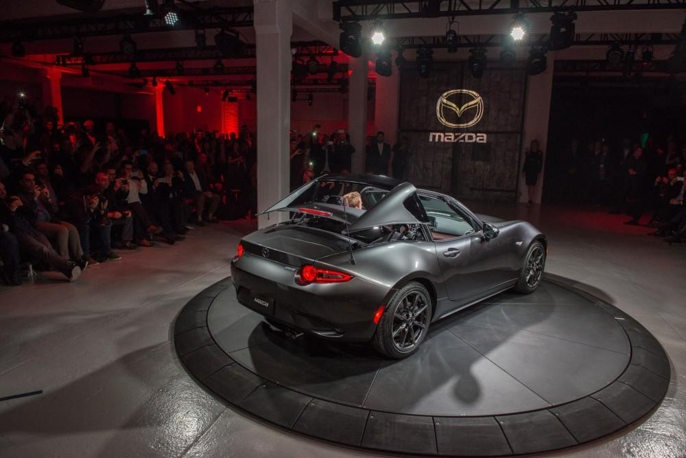 Mazda MX-5 RF To Debut At Goodwood