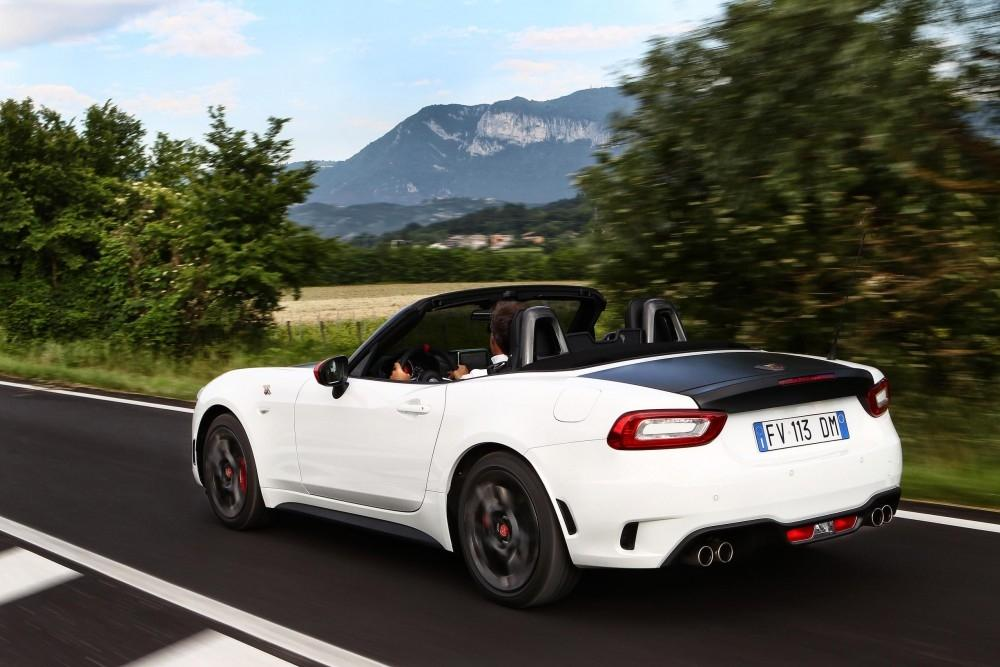 UK Pricing Announced for New Abarth 124 Spider
