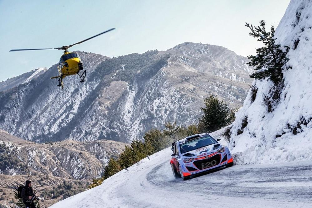 Hyundai i20 WRC Rally Debut