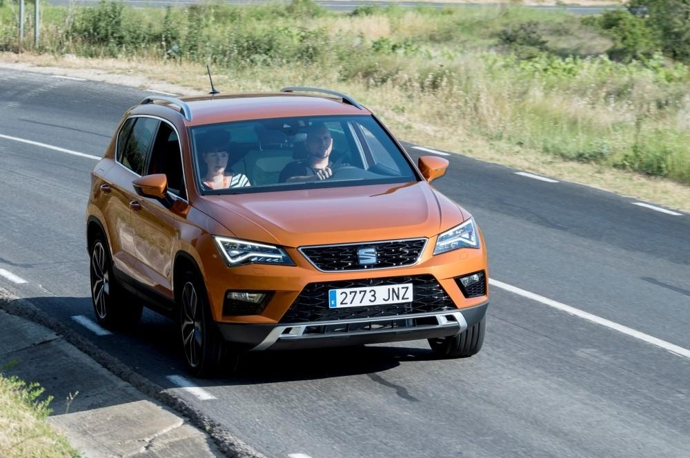 SEAT Ateca Awarded Top Five Star Safety Score
