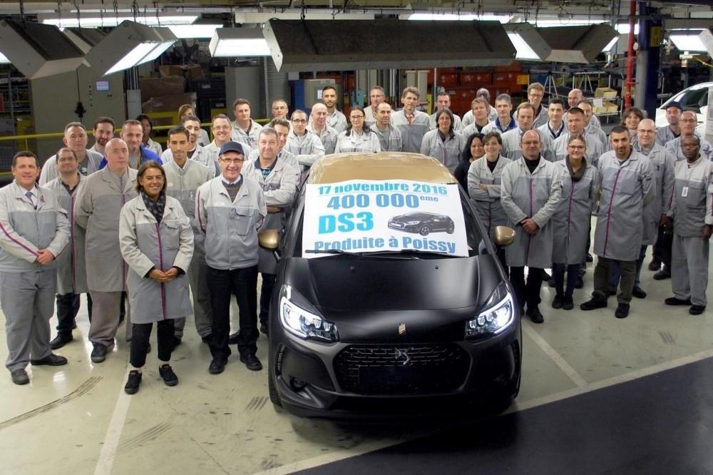 400,000th DS3 hatchback delivered