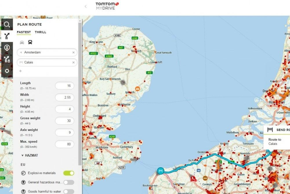 Plan, Drive & Deliver with TomTom