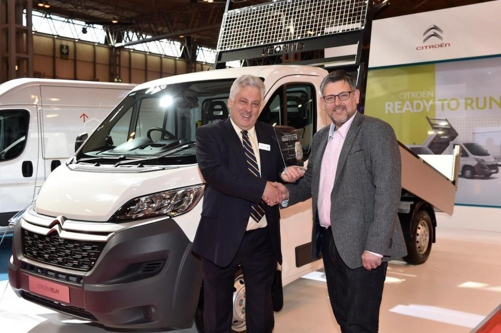 Citroen Priased at Commercial Vehicle Show