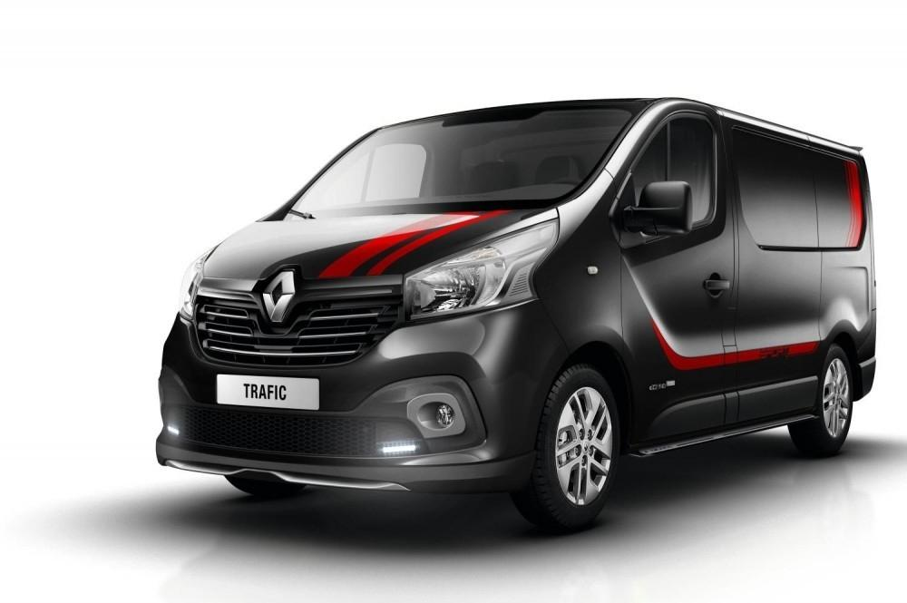 Renault Trafic Van Goes Sporty