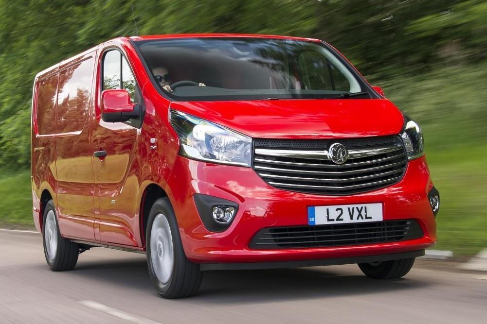 Vauxhall Vivaro Honoured
