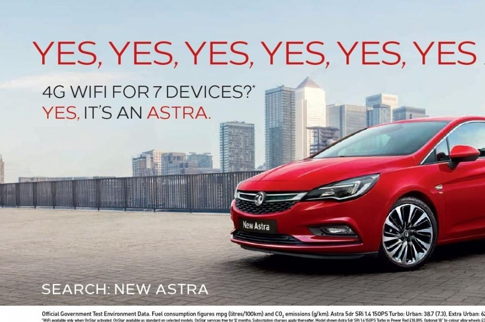 'Oh My God' Astra Advert