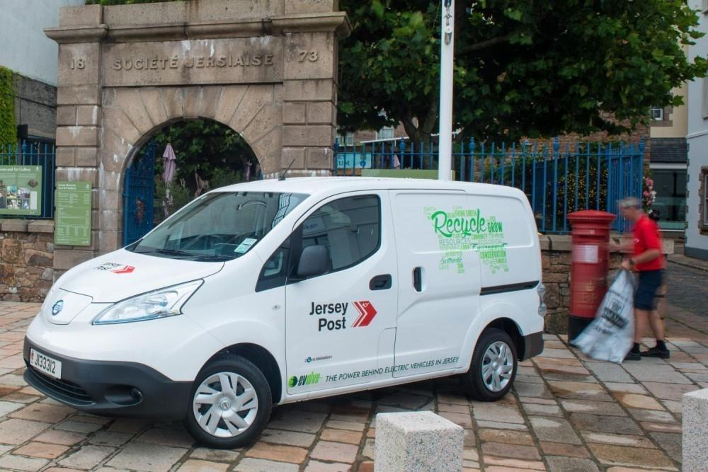 Nissan e-NV200s Join Jersey Post
