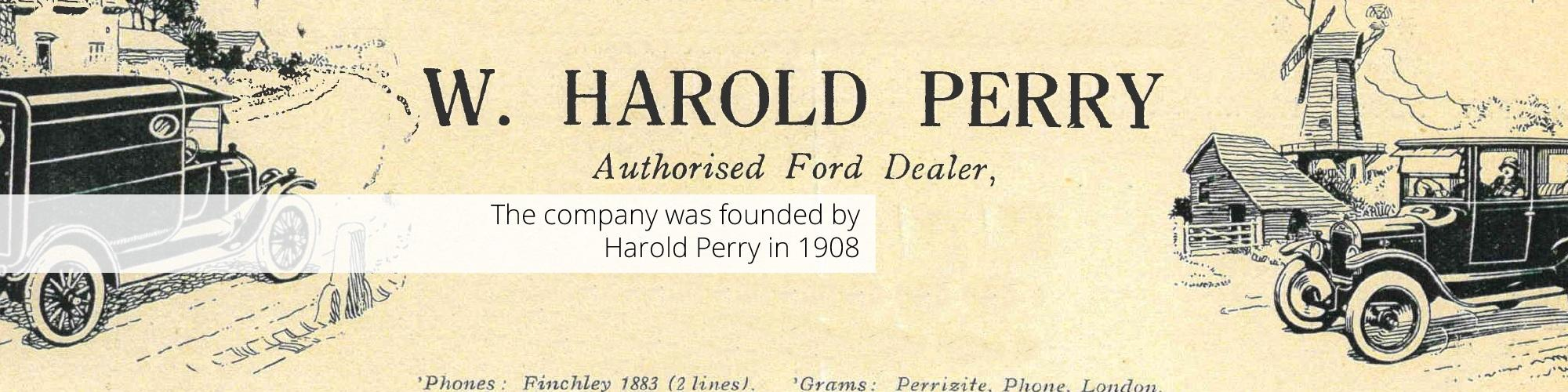 The history of Perrys motor sales