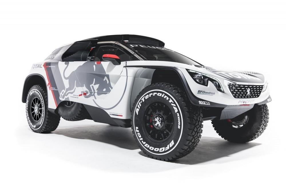 New Peugeot 3008 DKR Revealed