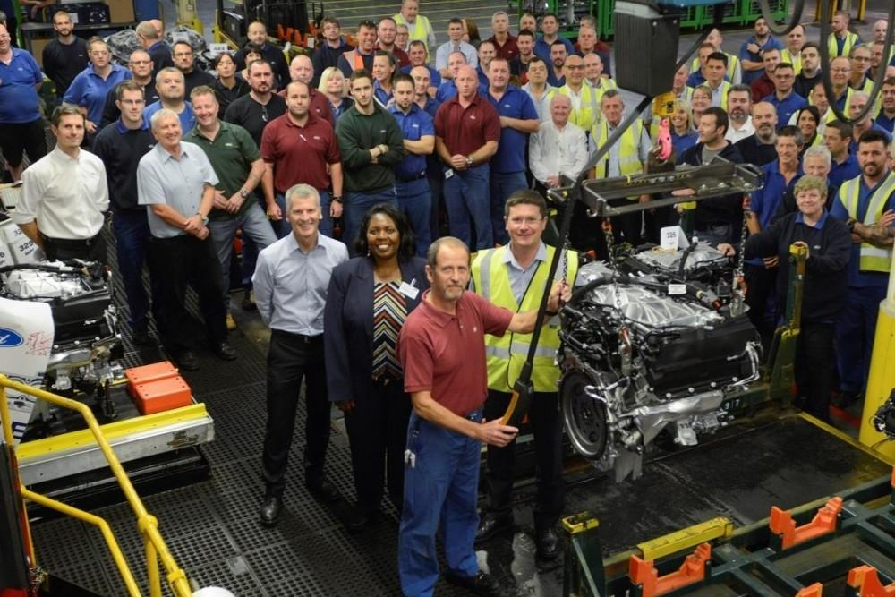 Ford Bridgend Builds 20-Millionth Engine