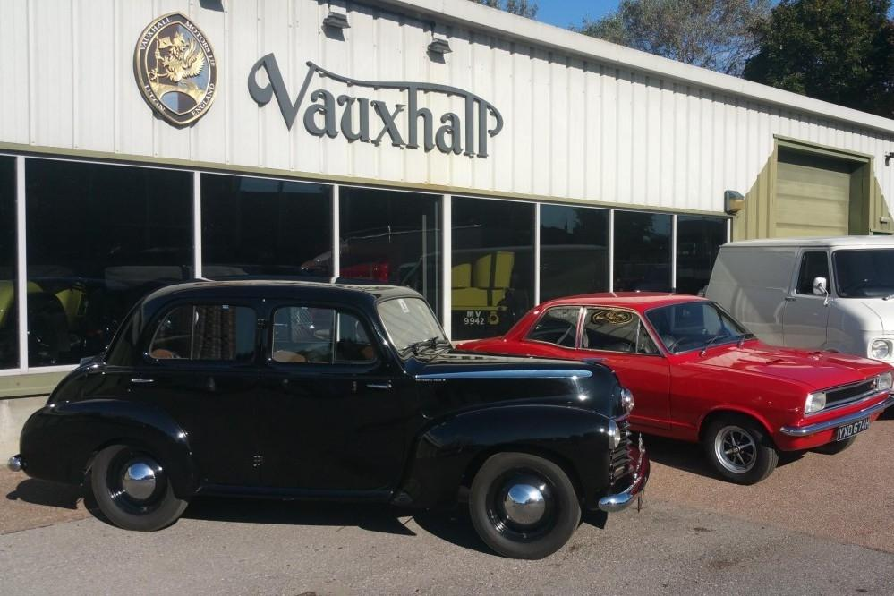 Vauxhall Preps For Classic Show