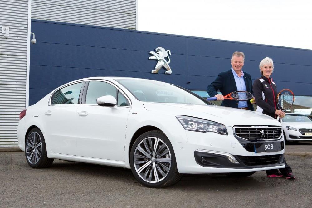 Peugeot Serves Up 508 For Tennis Scheme