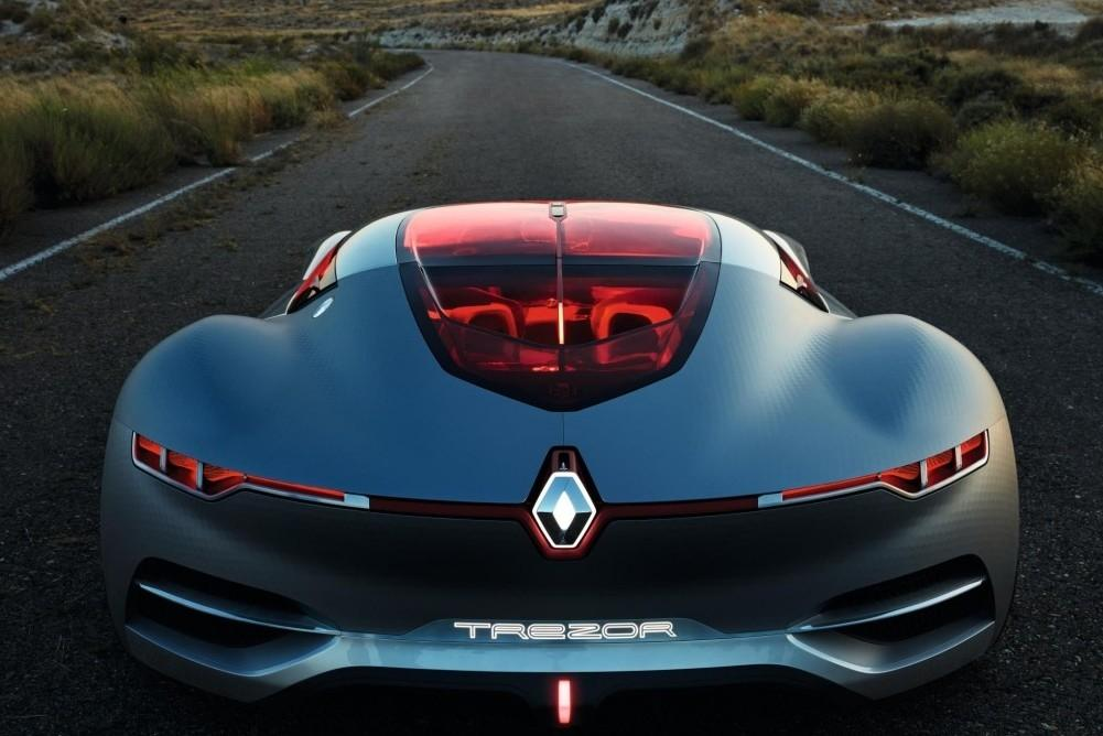 Renault's All-Electric Trezor GT Concept