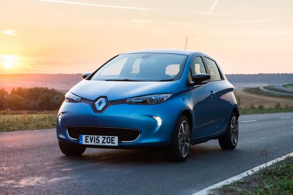 Renault ZOE Crowned Green Apple Champ