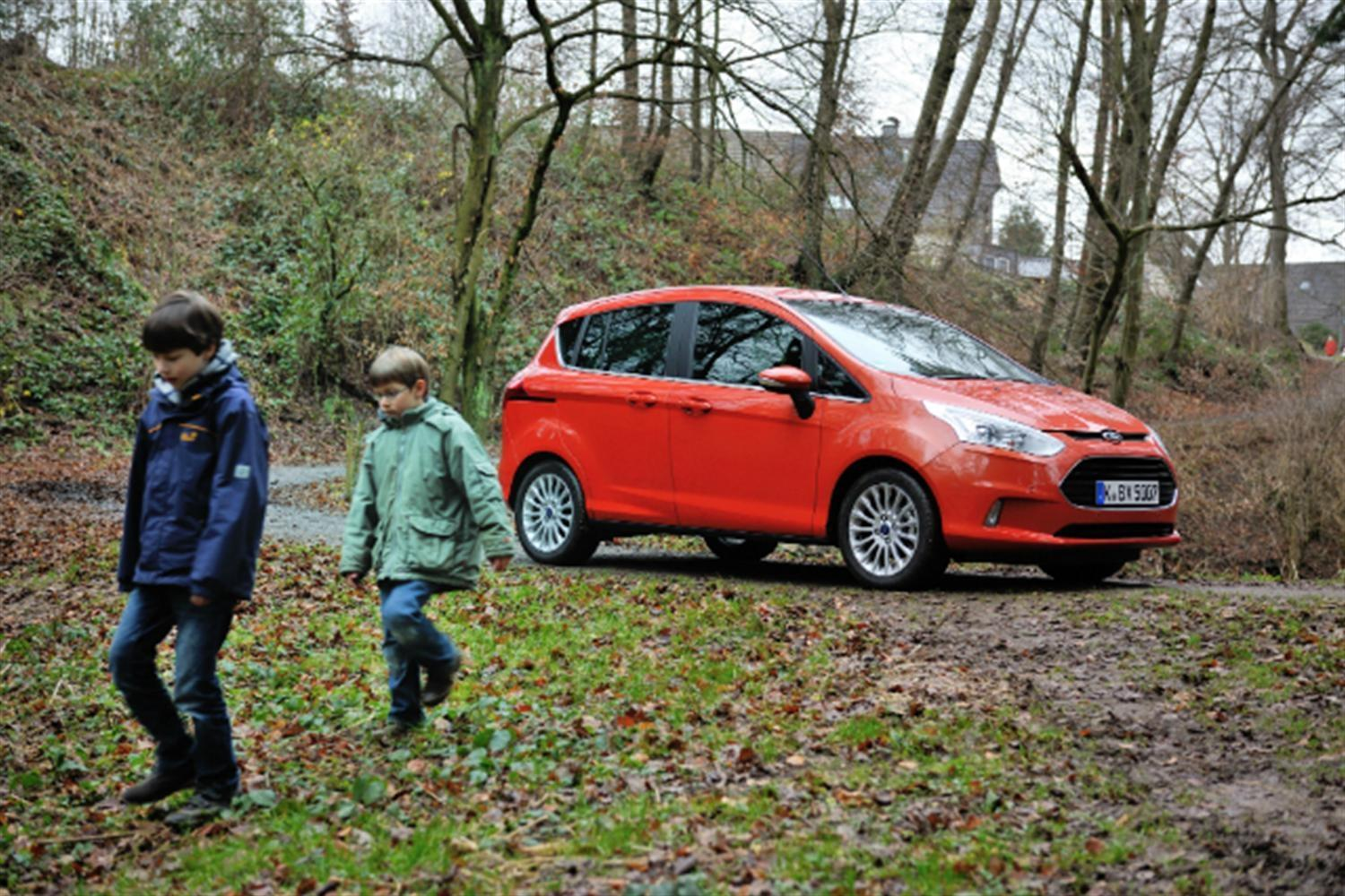 New Ford B-MAX gets 'child-proofed'