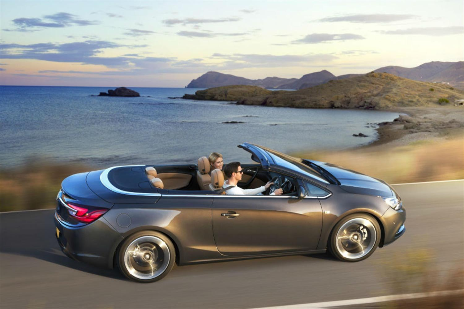 New Vauxhall Cascada convertible revealed