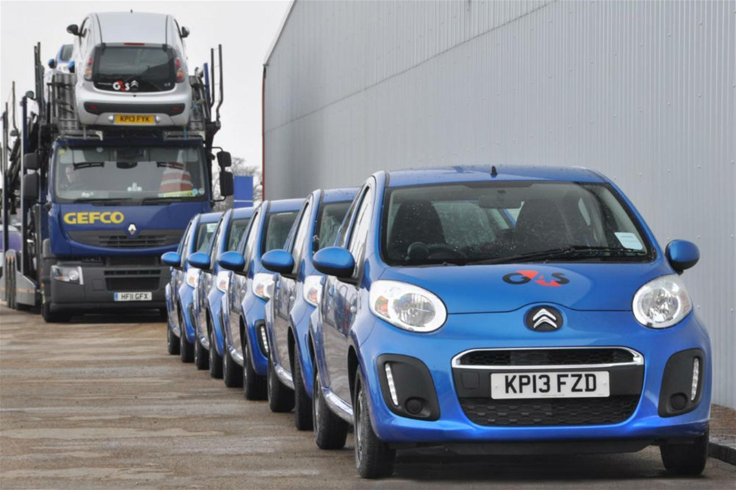 Large Citroen C1 Fleet Joins Business Giant G4S