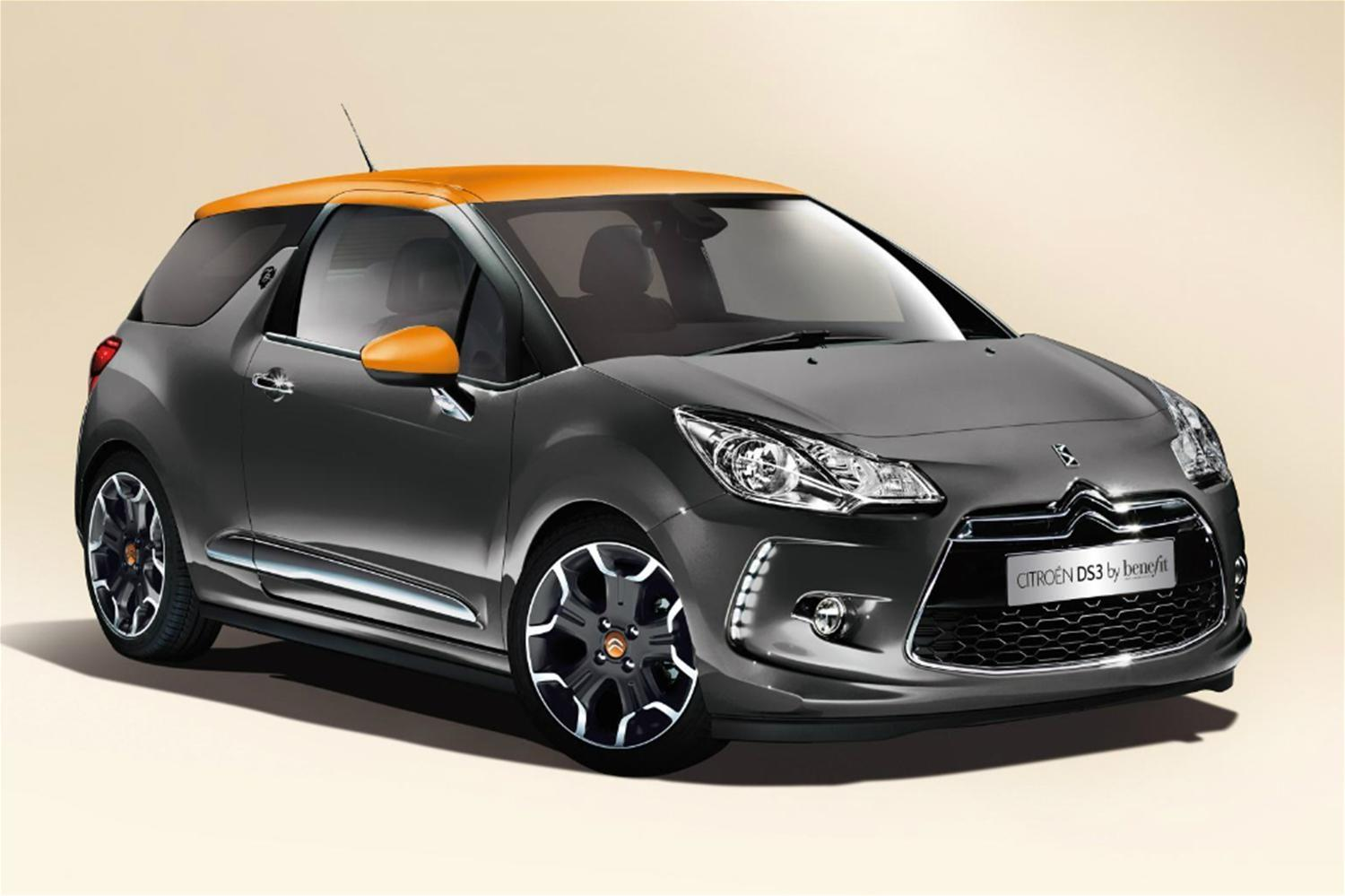 Citroen DS3 Benefit Cosmetics Editions Launched