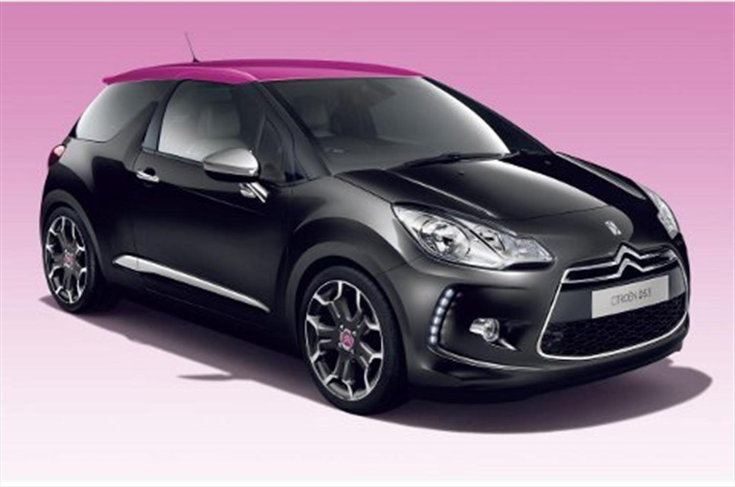 New 'pink' Citroen DS3 revealed
