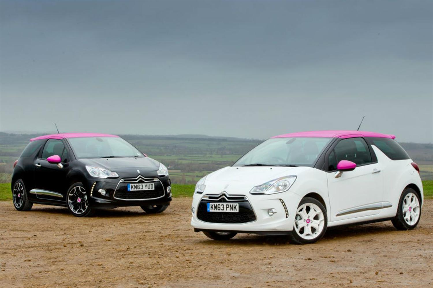 New Citroen DS3 special editions 'pretty in pink'
