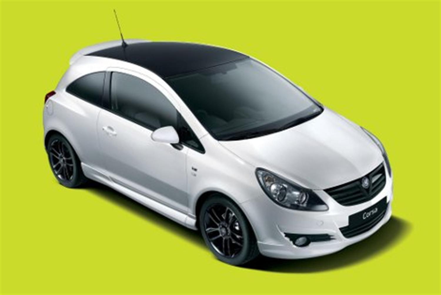 Vauxhall Corsa Black & White Limited Edition Unveiled