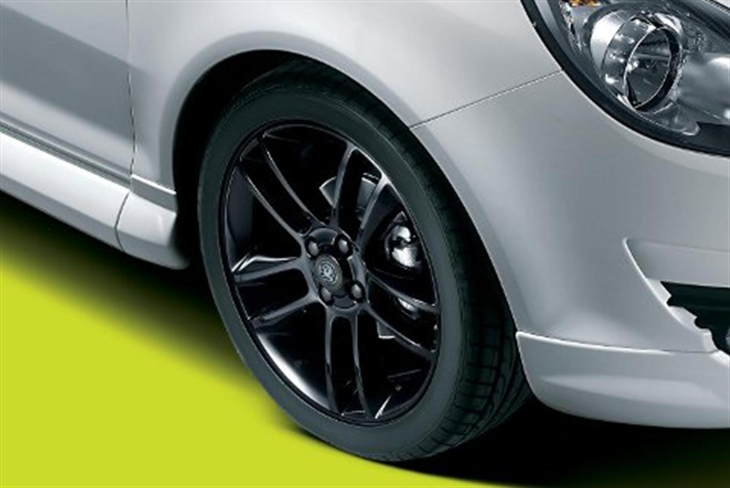 New alloy wheels for Vauxhall Corsa