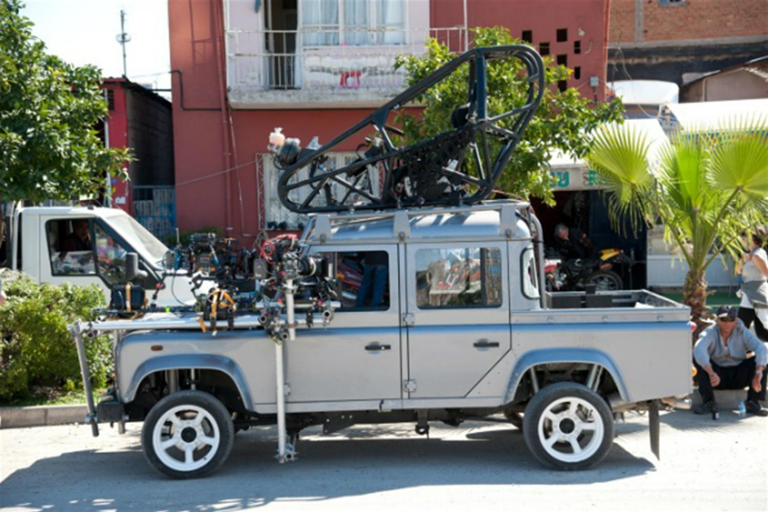 Land Rover Defender Stars in Skyfall