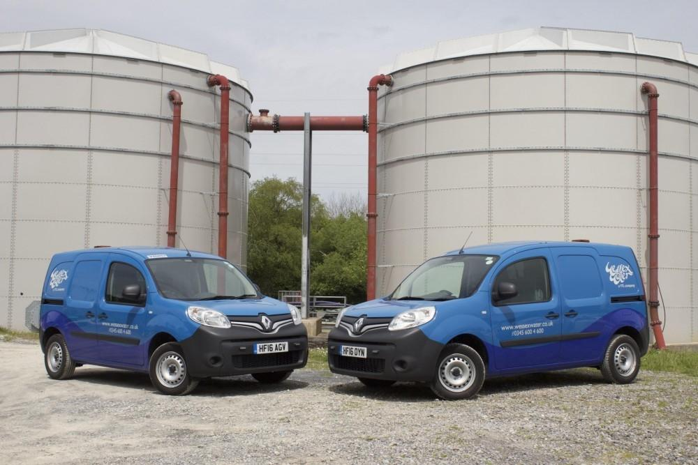 Renault Kangoo Panel Vans Make A Splash