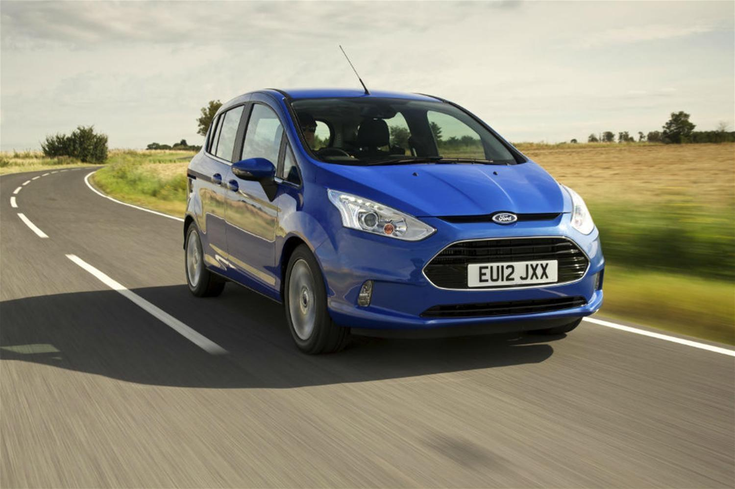 Ford B-Max Named for Top Safety Honour