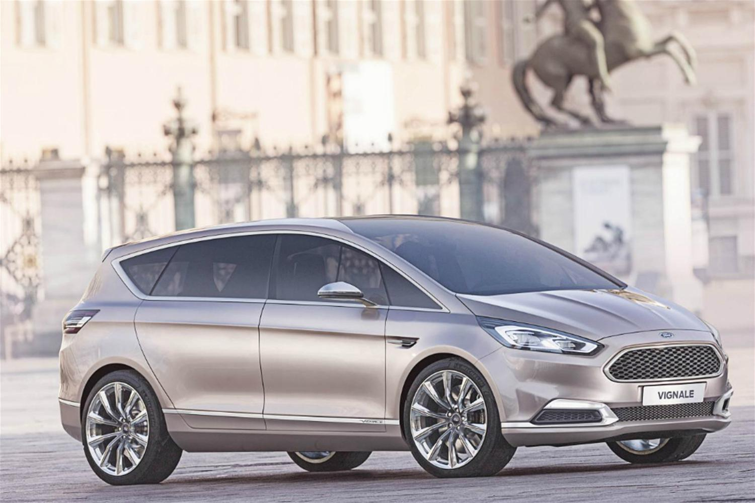 Luxurious Ford S-MAX Vignale Concept Uncovered
