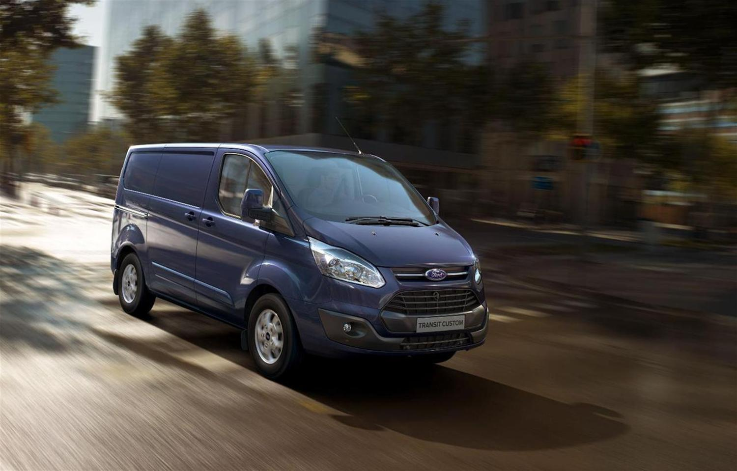 New Ford Transit Custom Residual Values Boosted