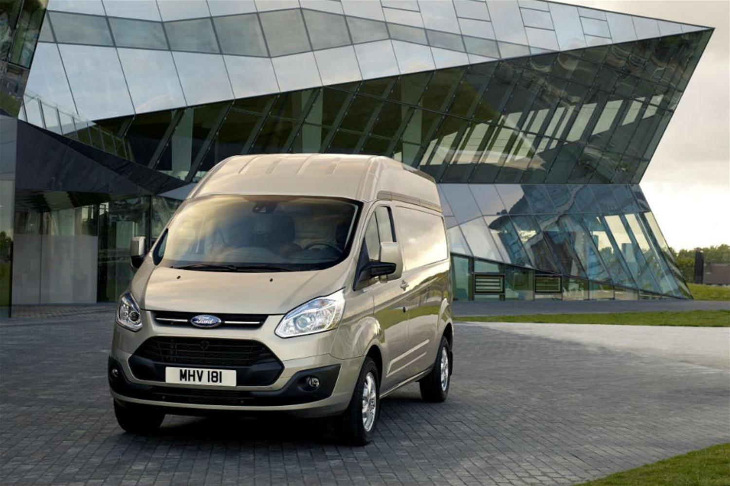High-roof Ford Transit Custom launched