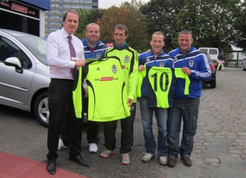 Perrys Blackburn football team sponsorship announced