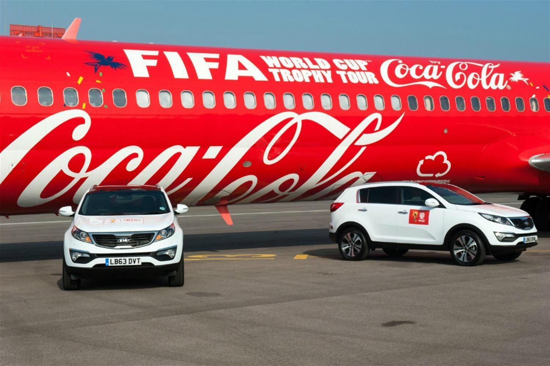 Kia to Tour FIFA World Cup Around UK