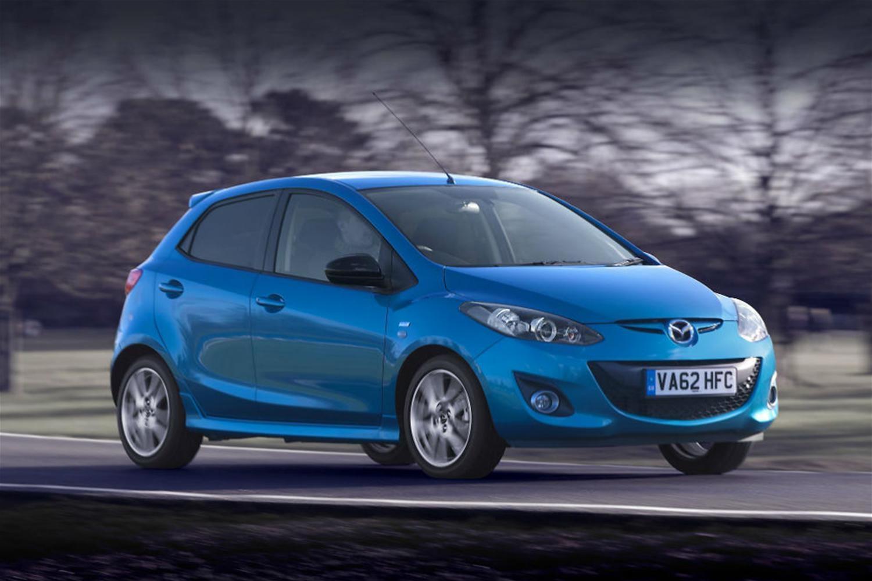 The 2014 Mazda range