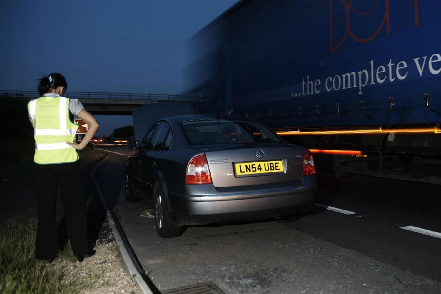 What to do if you breakdown on the motorway