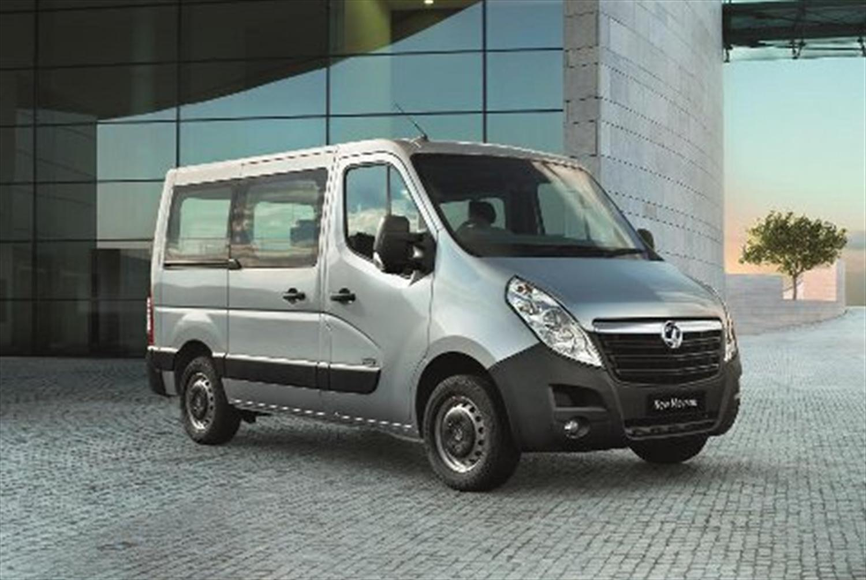 Vauxhall Launches New 17-Seat Movano Minibus