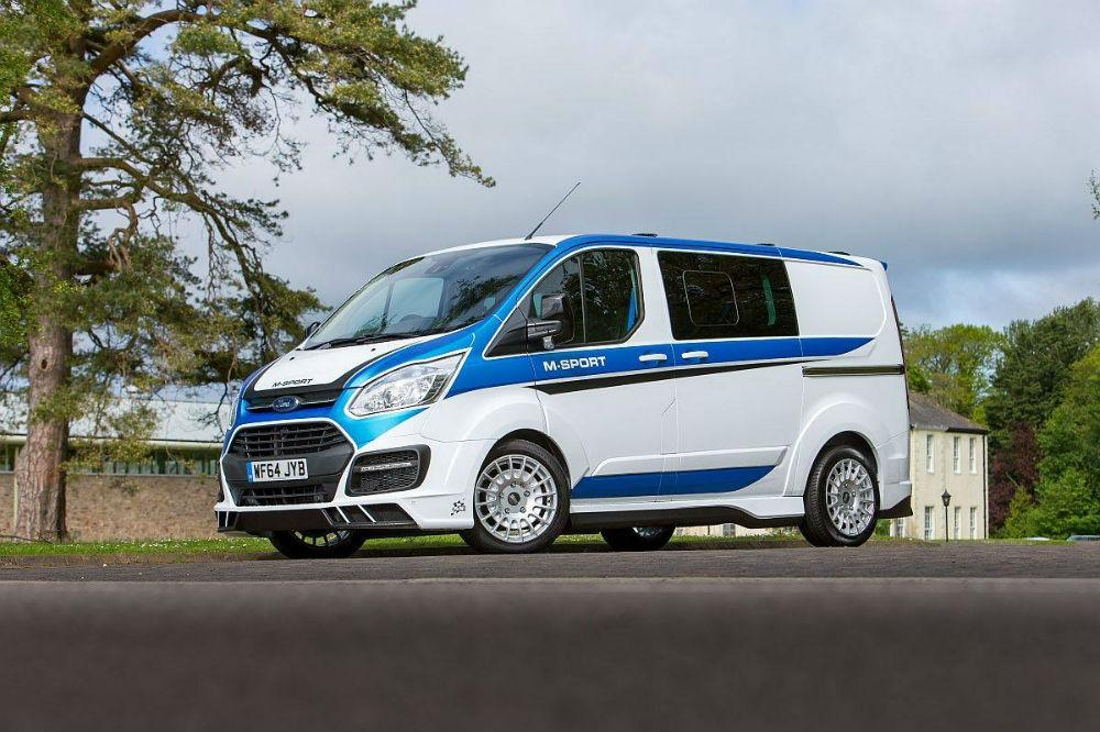 Meet the world's coolest Ford Transit!
