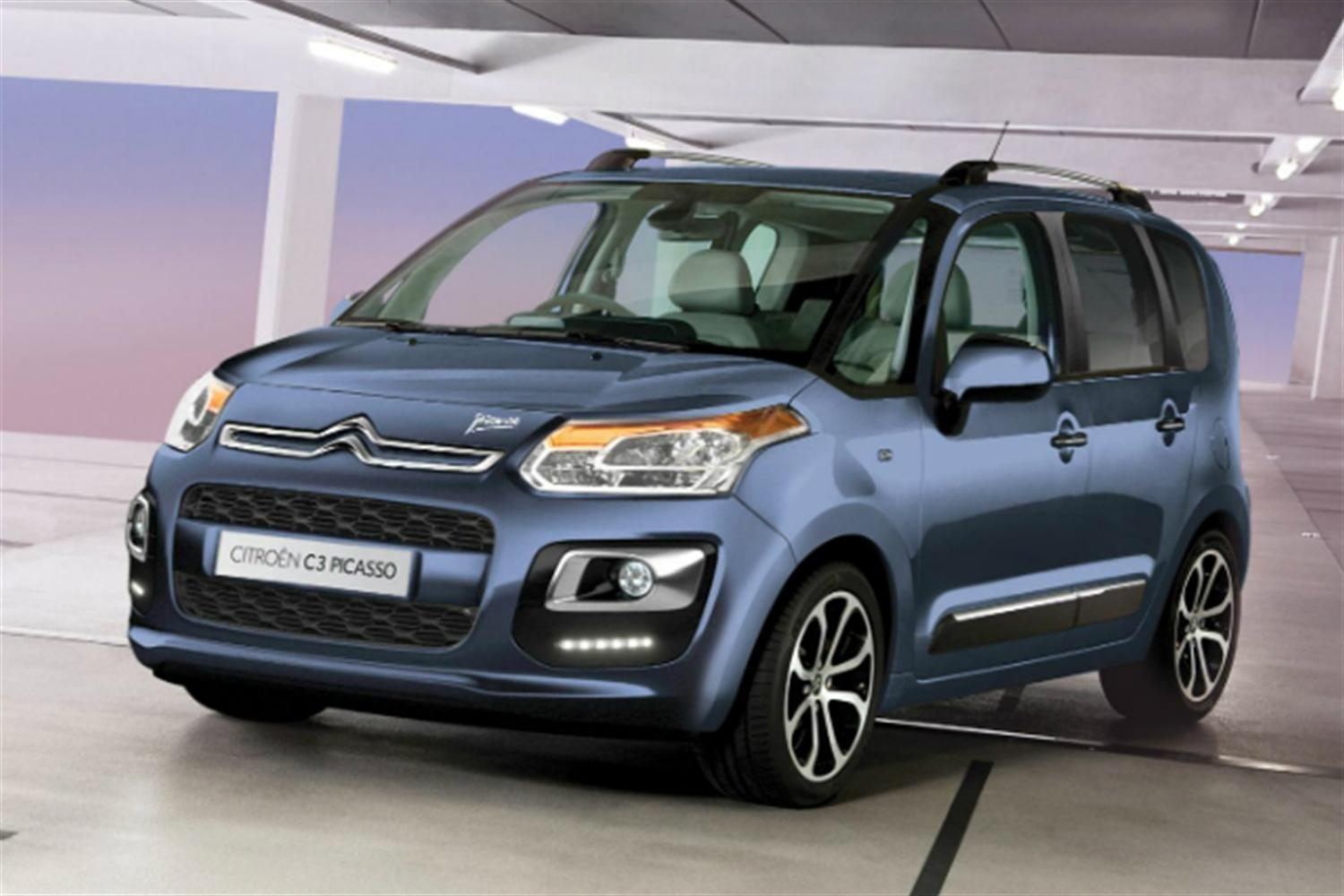 Citroen C3 Picasso Gets Style Overhaul