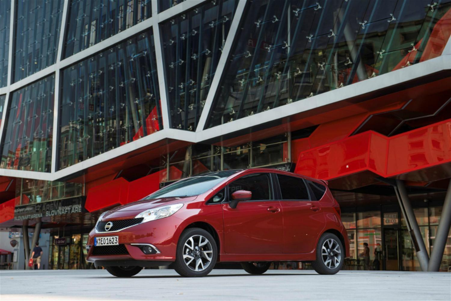 Nissan Note Adds New Supercharged Engine